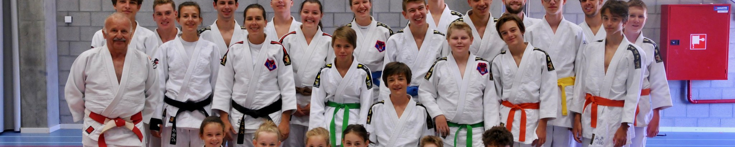 Training judokamp met Leo